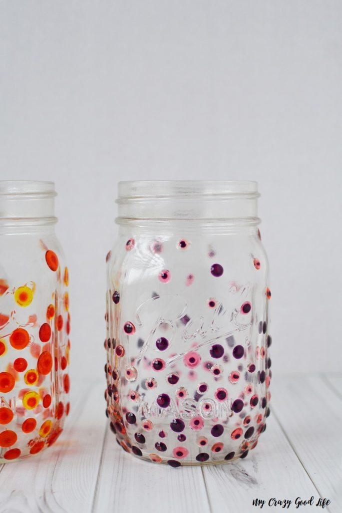 Hand Painted Mason Jar Glasses Easy Glass Craft My Crazy Good Life