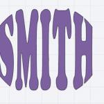Cricut Text in Shape Tutorial