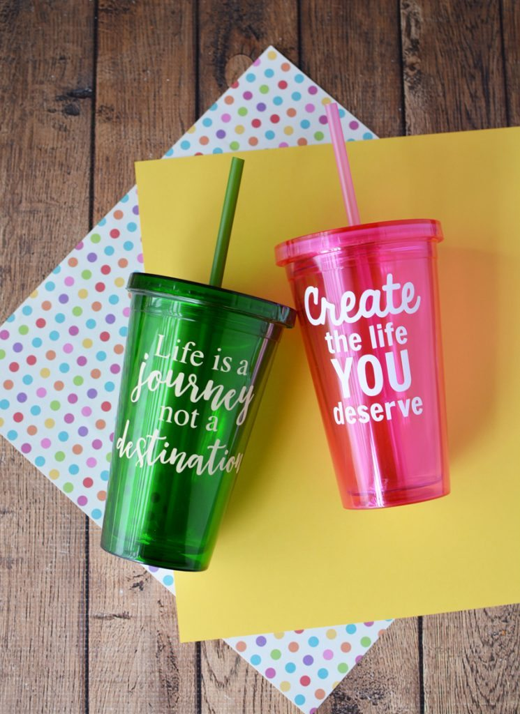 Cricut Vinyl Crafts Ideas