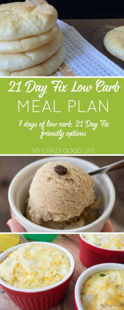 With a 21 Day Fix low carb meal plan you can focus on two types of healthy eating. If you are avoiding carbs and rocking 21 Day Fix this one is for you!