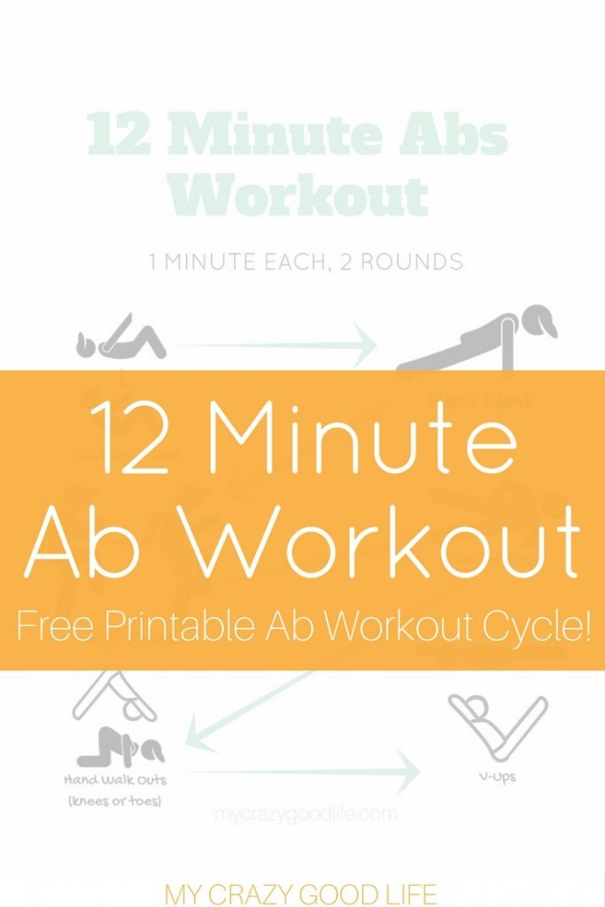 This 12 Minute Ab Workout is perfect for the 30 Day Ab Challenge. You can get toned and defined abs before swimsuit season arrives!