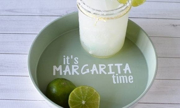 DIY Margarita Drink Tray | Margarita Drink Tray Craft