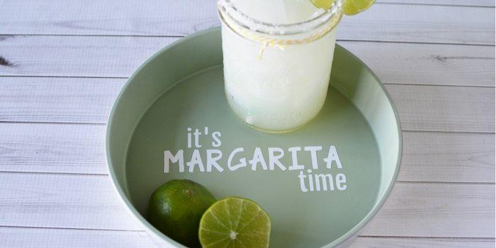 DIY Margarita Drink Tray | Margarita Drink Tray Craft