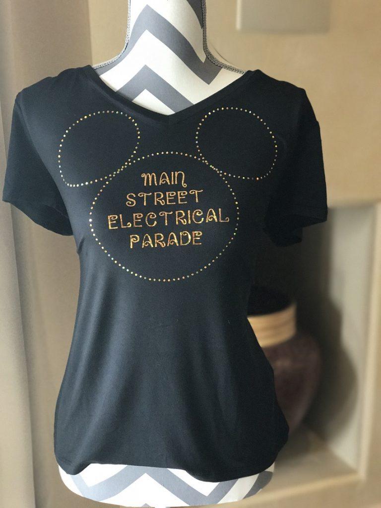 Main Street Electrical Parade Shirt Cricut Project My