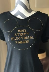 We're back with another fun Cricut project! This Electrical Light Parade Shirt will have you looking fun and festive in just a few easy steps.