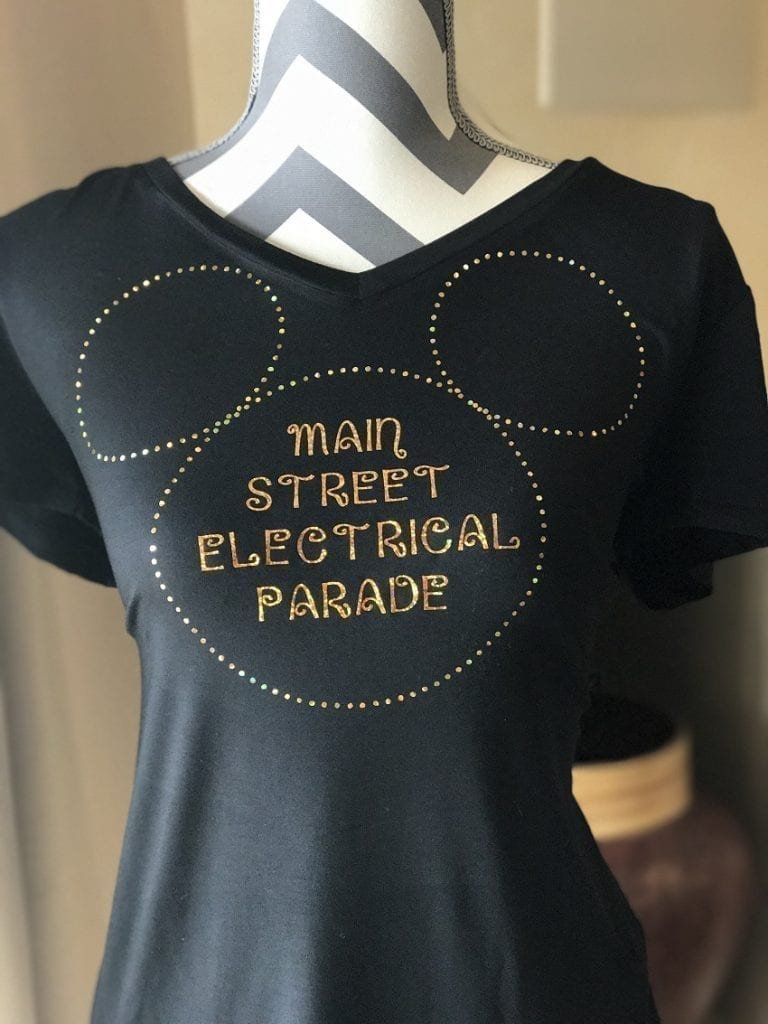 Main Street Electrical Parade Shirt | Cricut Project
