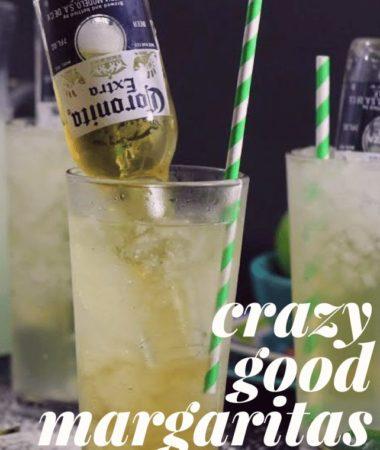 My favorite margarita recipes from My Crazy Good Life–healthy margaritas, low cal margaritas, and delicious and sinful margaritas. Margarita ebook | Margarita Cookbook | Margarita Recipe