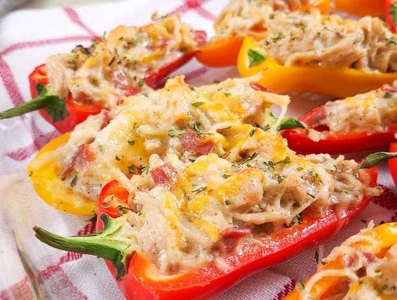 crack chicken appetizer stuffed peppers