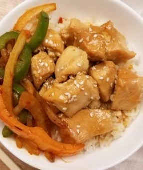 This Weight Watchers Orange Chicken Recipe is delicious! Weight Watchers Chinese recipes help you feel full and satisfied after dinner. Instant Pot Orange Chicken is a great family friendly meal. | Weight Watchers Points | Weight Watchers Instant Pot Recipe | Weight Watchers Instant Pot Dinner Recipes | WW Chinese | Healthy Instant Pot Orange Chicken #weightwatchers #ww #freestyle #chinese #orangechicken #instantpot