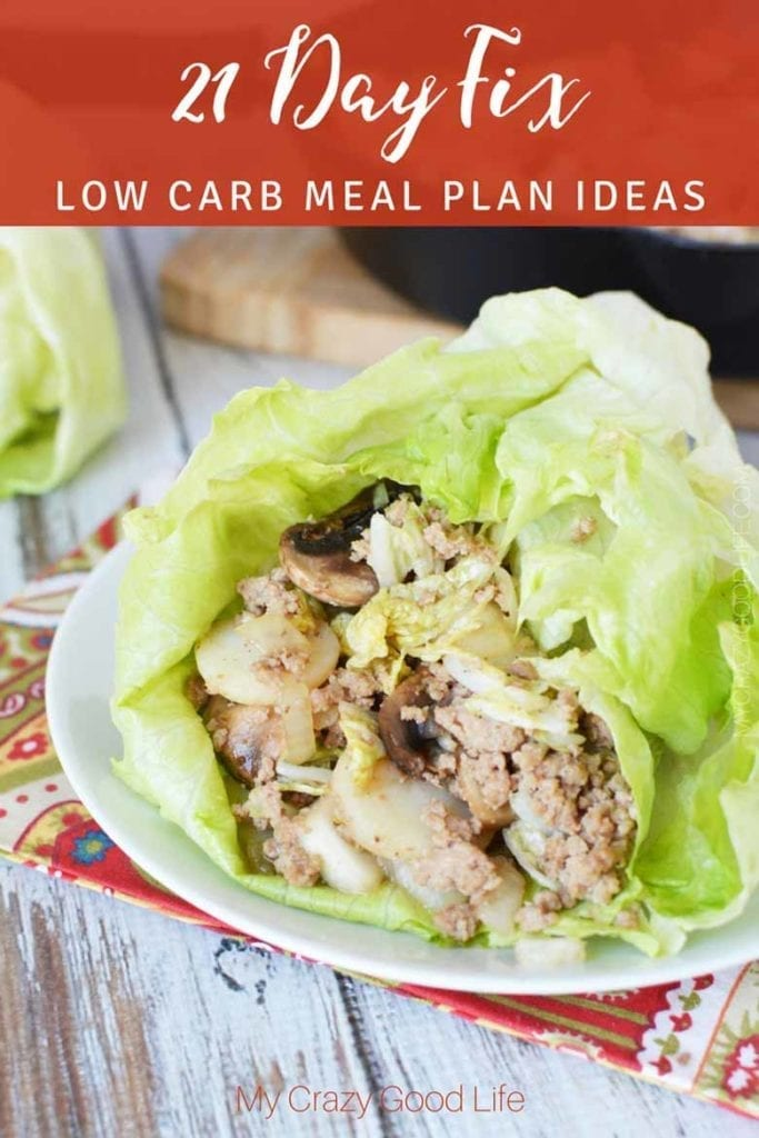 low carb meal ideas for the 21 day fix