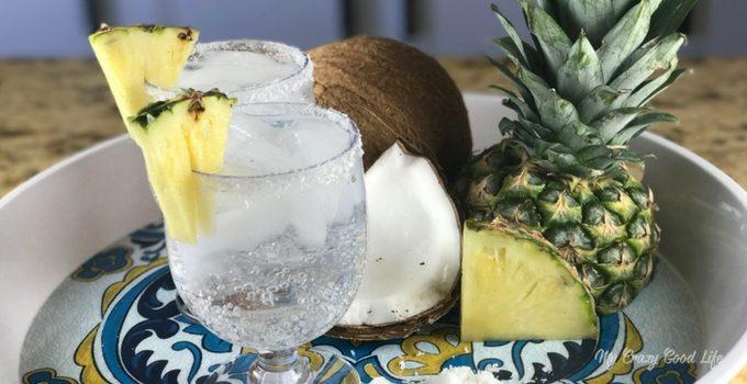 100 Calorie Pina Colada | LaCroix Cocktail | LaCroix Pina Colada