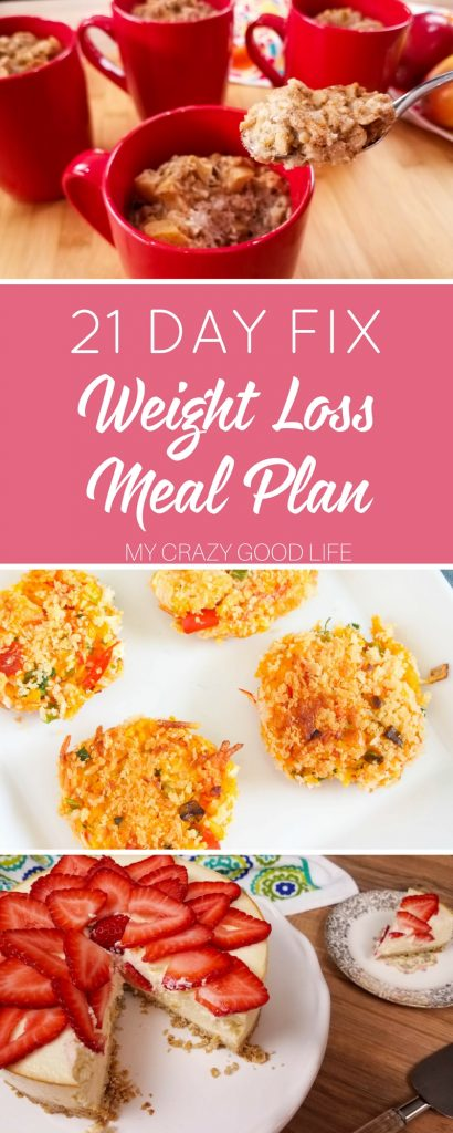Losing weight can be hard, it's mostly about what you eat! This 21 Day Fix weight loss meal plan is organized and full of quick, easy, delicious recipes.