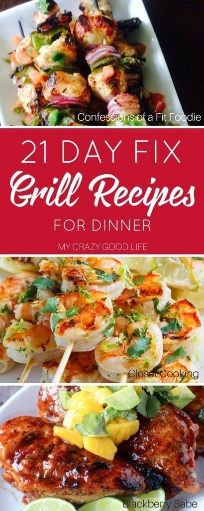 21 Day Fix Meal Plans | My Crazy Good Life