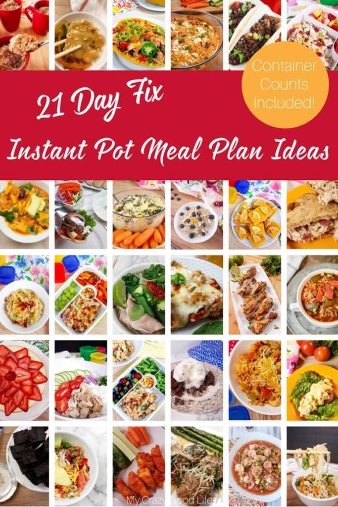 instant pot meal plan ideas