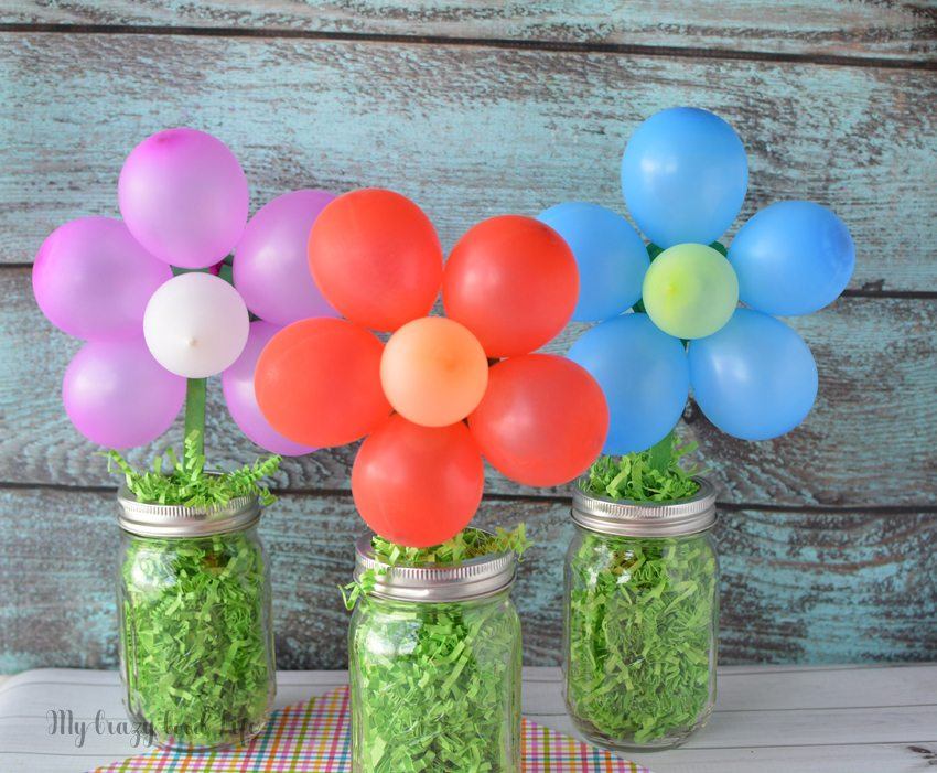 Diy balloon centerpiece my crazy good life