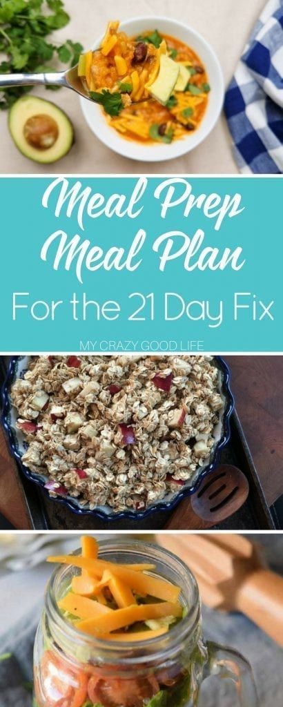 Day Fix Meal Plans  My Crazy Good Life