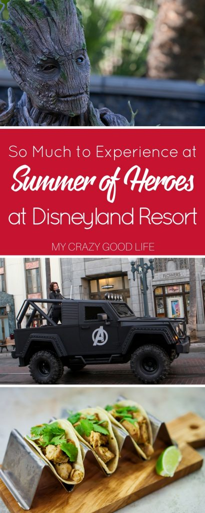 There's always something new happening at Disney. This year it's Summer of Heroes at Disneyland Resort and there's plenty to see, do, and eat!