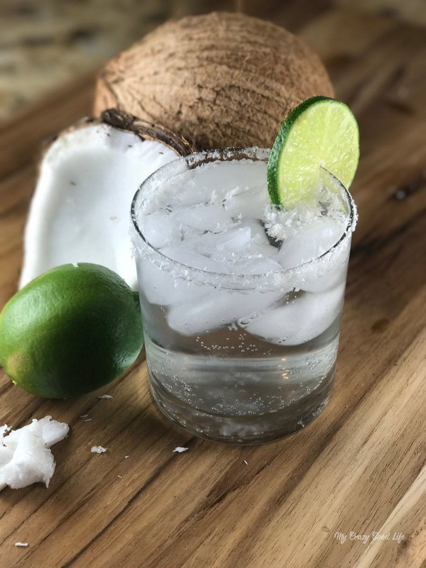 coconut margarita as a BBQ drink