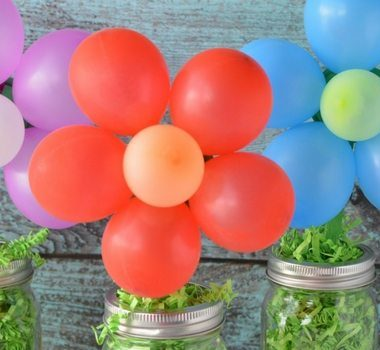 Making this DIY balloon centerpiece is quick and easy. They're so fun and festive I'm sure you'll find ways to use them for all kinds of parties and events!