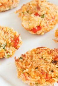 If you are looking for a healthy crab cake recipe you've come to the right spot! These sweet potato crab cakes are so easy and very delicious!
