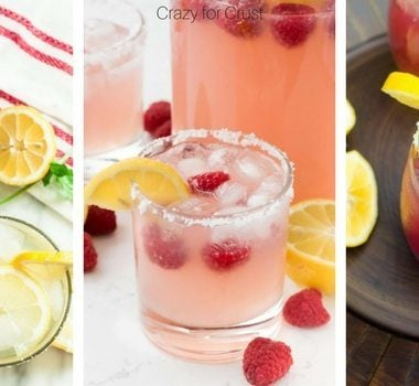 If you haven't found your favorite lemonade margaritas for the Summer yet, don't worry, I've got you covered. Try them all and pick your favorites!