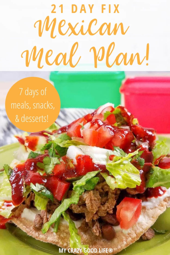We're spicing things up this week with some 21 Day Fix Mexican meal plan recipes! The 21 Day Fix can be a great way to stay on track with a healthy lifestyle, and I'm here to make sure you have delicious recipes to help you along the way.