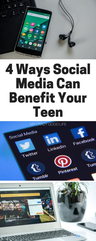 Social media can be dangerous and it certainly comes with its share of negatives. That being said, there are actually some great ways social media can benefit your teen too.