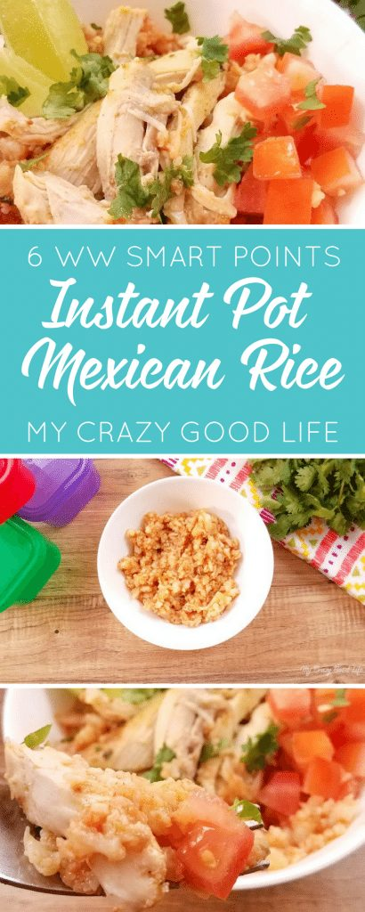 Craving Spanish Rice but need the recipe to be easy? This Instant Pot Spanish Rice is made with cauliflower *and* is Weight Watchers friendly! It's the best of both worlds! Cauliflower Spanish Rice | 21 Day Fix Spanish Rice | Instant Pot Spanish Rice | Low Carb Spanish Rice