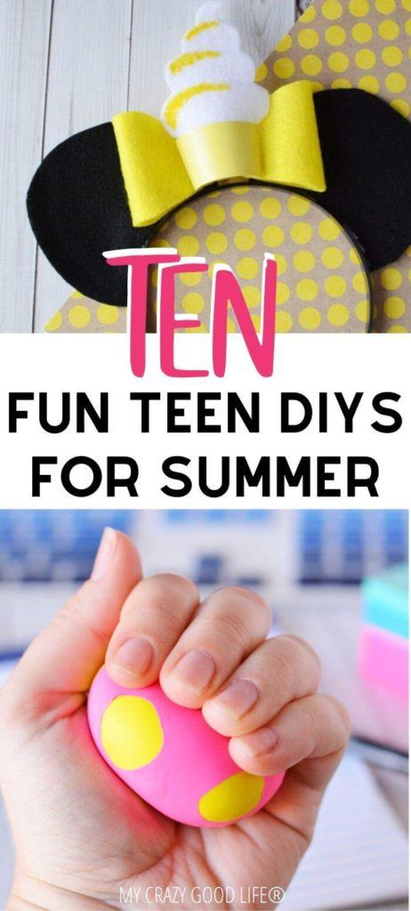 Pin for teen diys for summer