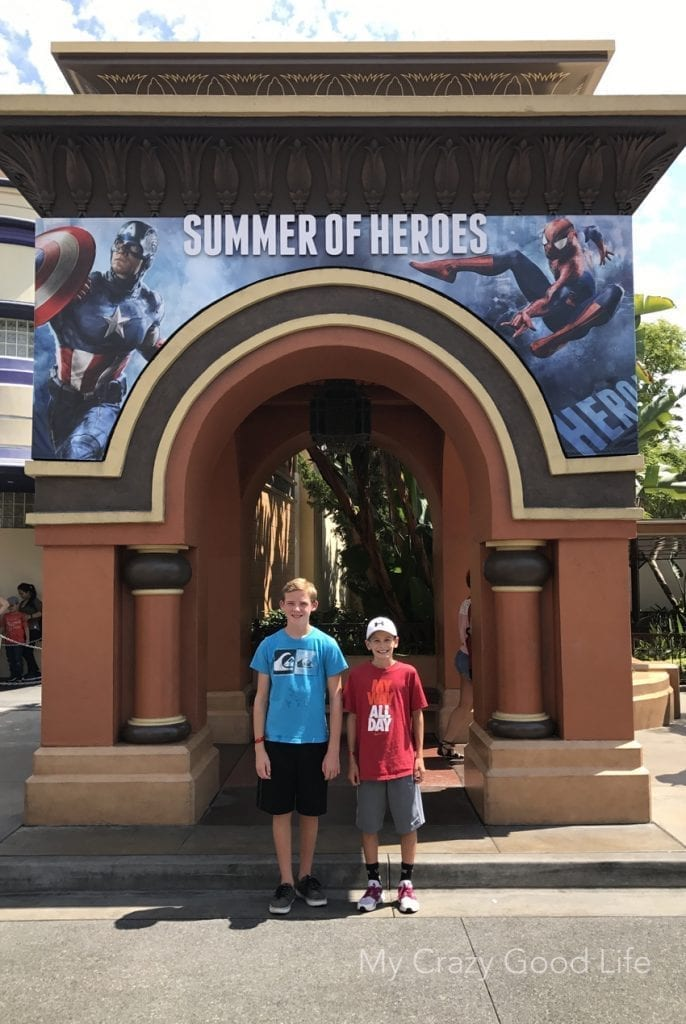 Experience the Summer of Heroes at Disneyland Resort until September 10, 2017. Themed food, merchandise, and tons of experiences are part of the fun!