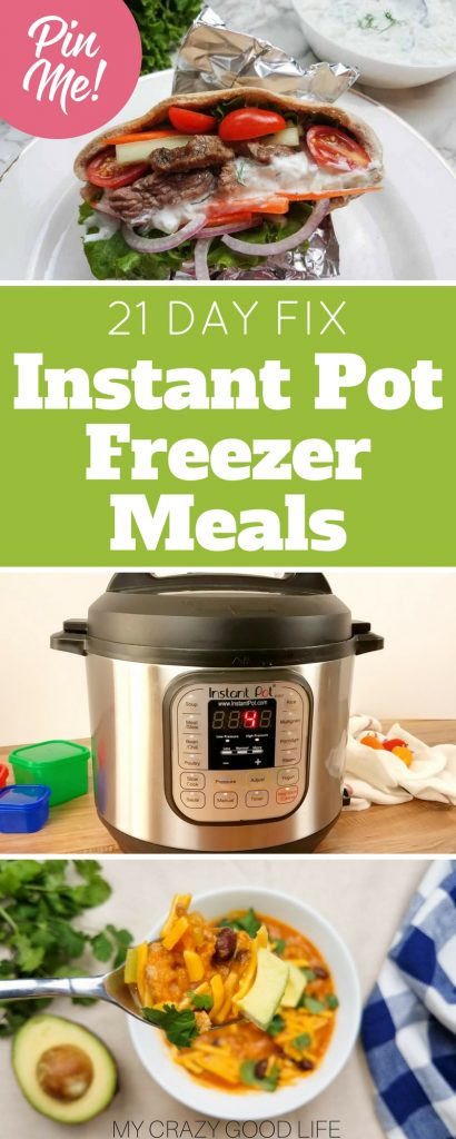 The great thing about 21 Day Fix Instant Pot freezer meals is that they combine the effortless planning aspects of freezer meals with my favorite kitchen appliance: the Instant Pot.