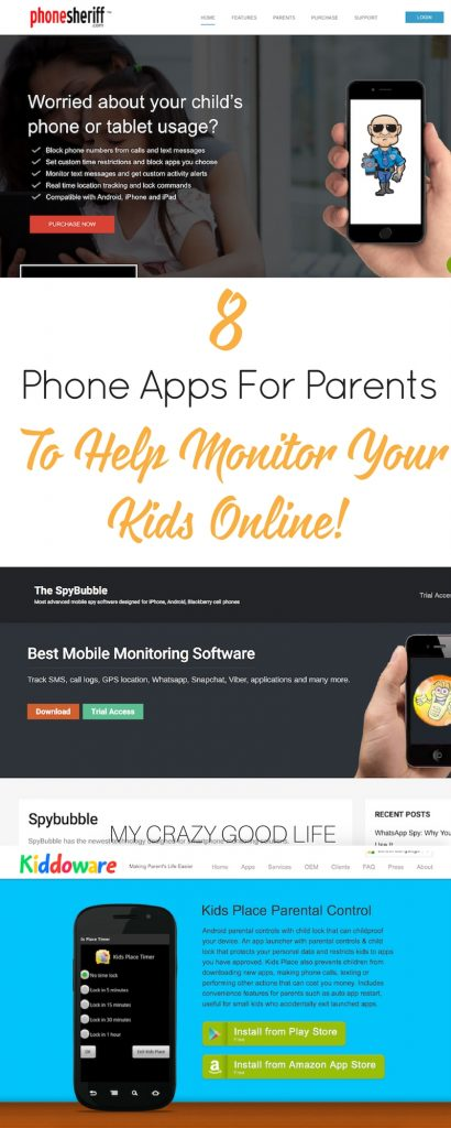 One of the new parenting challenges in recent years is technology. Thankfully there are now phone apps for parents to monitor your kids activity online.