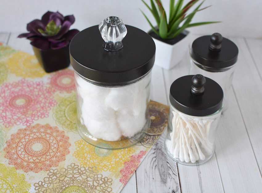 Repurposed Candle Jars