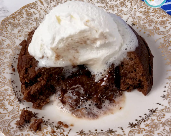 Instant Pot Lava Cake | Healthy Lava Cake Recipe