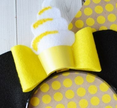 All the Disney fans out there know how important a good set of DIY Mickey ears are, right? I'm sharing with you a set of Dole Whip Mickey Ears!