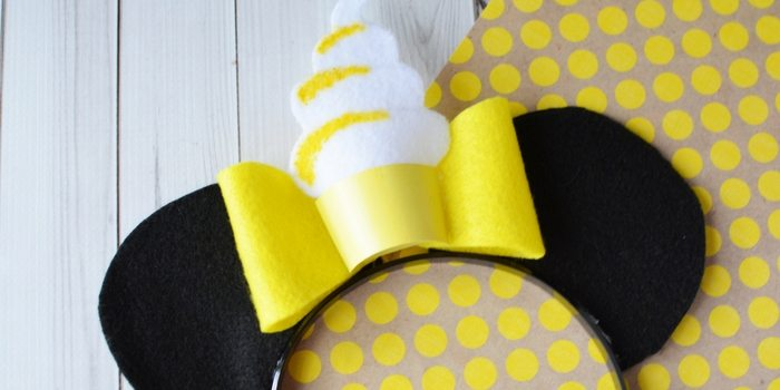 Dole Whip Mickey Ears | DIY Mickey Ears
