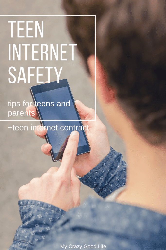 These talking tips for teen internet safety will help you start a conversation about protecting information online | Free Printable Teen Internet Contract