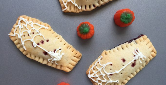 Coffin Shaped Homemade Pop Tarts | Fun Halloween Recipe