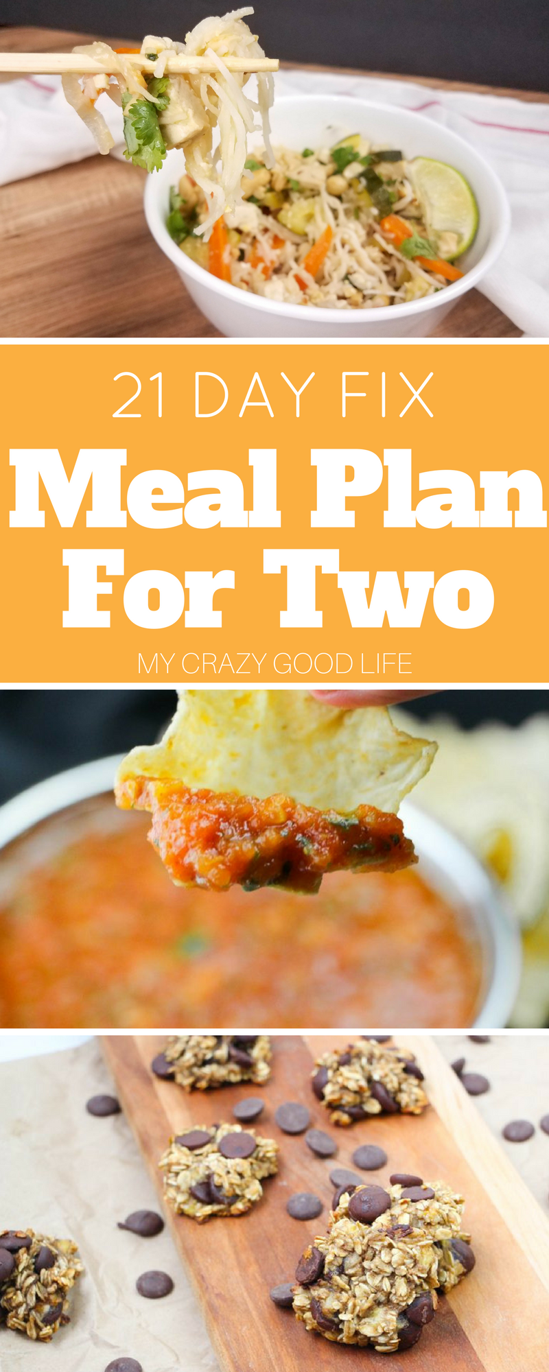 This 21 Day Fix meal plan for two is perfect if you are cooking for yourself or just for two. No stress over cooking for one and having tons of leftovers.