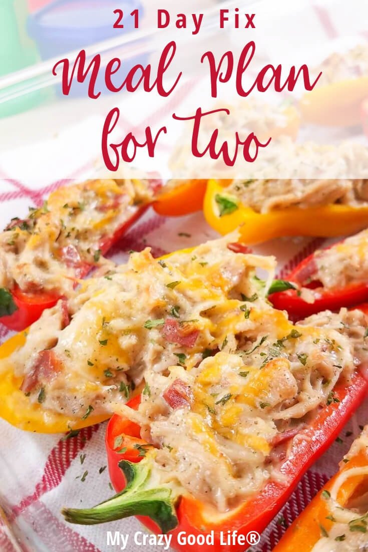 This 21 Day Fix meal plan for two is perfect if you are cooking for yourself or just for two. I've pulled the easiest to freeze and portion recipes to help you reach your Ultimate Portion Fix goals. Freezer Meals | Easy Meals | Healthy Dinners