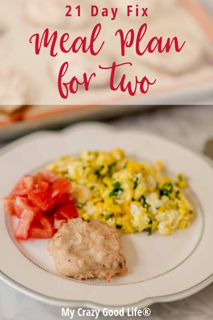 This 21 Day Fix meal plan for two is perfect if you are cooking for yourself or just for two. I've pulled the easiest to freeze and portion recipes to help you reach your Ultimate Portion Fix goals.