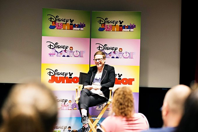 As part of the Thor: Ragnarok press event we were able to interview Vampirina Executive Producer Chris Nee. She shared her vision for the show as well as how they work together as a team to accomplish it.