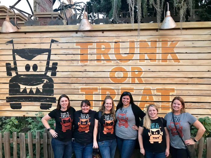 If you are looking for a fun Cars Land Halloween shirt ideas this one is great. Trunk or Treat at Cars Land was so much fun, we did it in style!