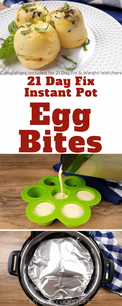 These copycat Starbucks Egg Bites are so delicious and easy to make in your Instant Pot! Save a ton of money by making Starbucks egg bites at home. Starbucks Egg Bites | Starbucks Egg Bites Recipe | Sous Vide Egg Bites | Instant Pot Egg Bites | Weight Watchers Egg Bites | 21 Day Fix Egg Bites