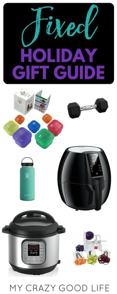Share this FIXED 21 Day Fix Gift Guide with your family, significant others, and other gift givers who can support you on your journey to be healthier! 21 Day Fix gifts | Fixed Holiday Gift Guide | 21 Day Fix Holiday Gift Guide | Gifts for Fixers | Gifts for 21 Day Fix | 21 Day Fix Gifts | Holiday Gifts For Fixers | Holiday Gifts for the 21 Day Fix