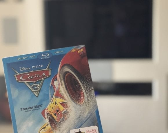 Available Now! Cars 3 + Blu-ray Bonus Features!