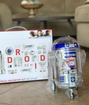 The perfect gift for your little maker–the littleBits Star Wars Droid Inventor Kit is a way that they can tinker and learn while they play.