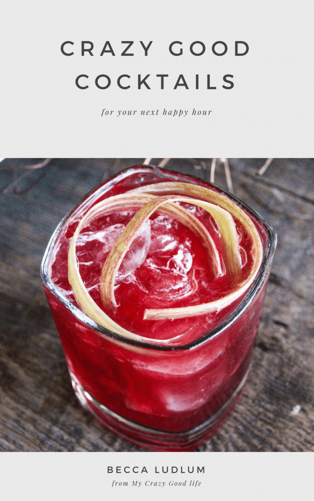 This easy to print eBook has all of the cocktail recipes you need to make it a great happy hour!