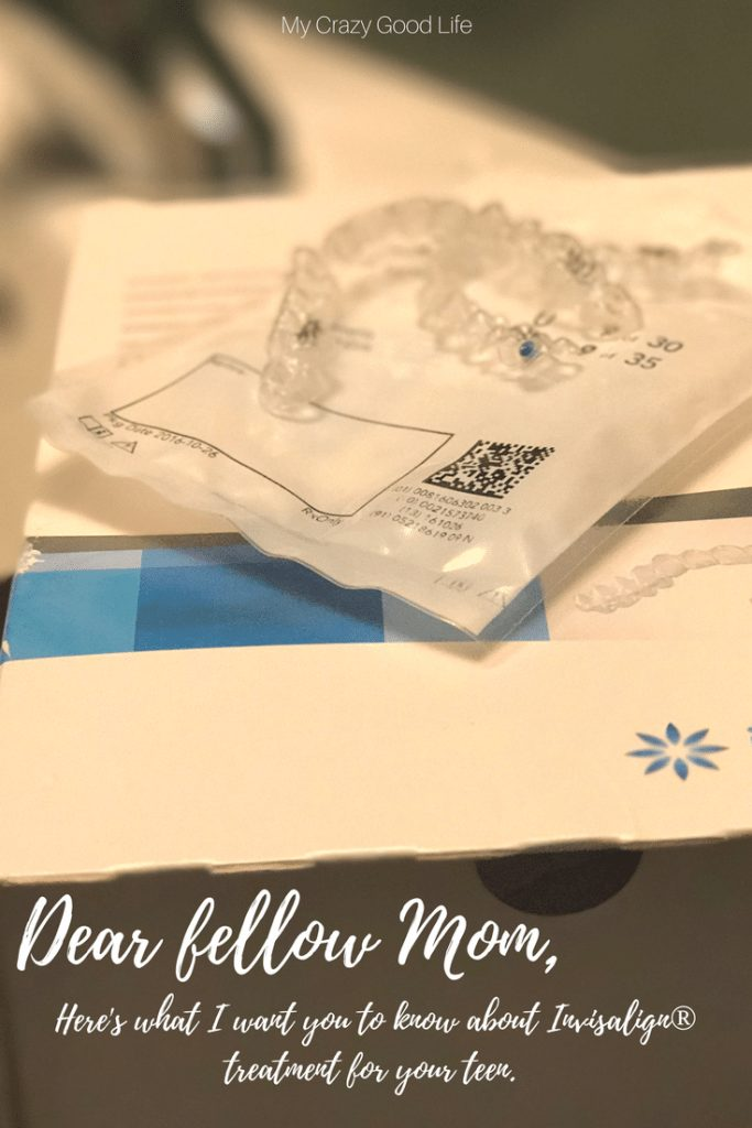 I love sharing my Invisalign secrets!  Here's something that is not a secret. Invisalign is a great option for orthodontic treatment.