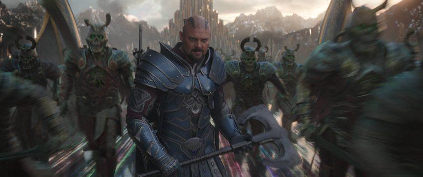 Interview with Thor: Ragnarok's Karl Urban